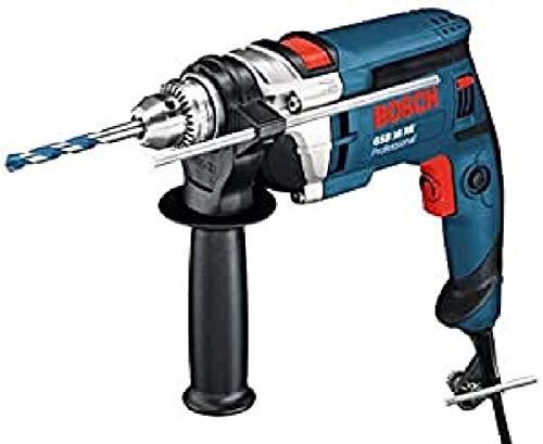 Bosch Professional Schlagbohrmaschine GSB 16 RE (750 Watt, inkl. Tiefenanschlag 210 mm, Zusatzhandgriff, Zahnkranzbohrfutter 13 mm, im Koffer)