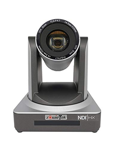 Zowietek Cámara de transmisión PTZ con NDI | HX Optics30X IP con salidas simultáneas HDMI y 3G-SDI
