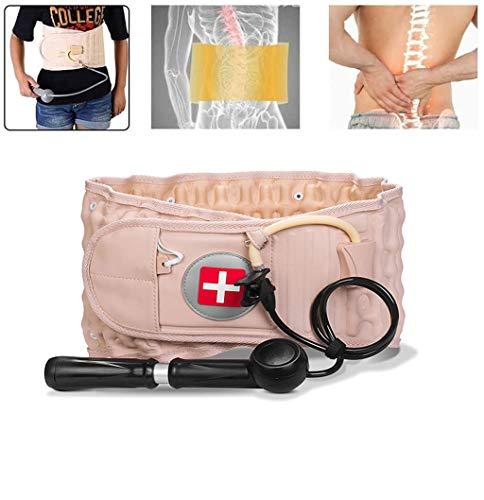 SDERF Rückengurt mit physischer Dekompression,Lendenwirbelzuggurt, Dekompressions-Rückenstütze Dekompressionsgurts kann Rückenschmerzen lindern für 29 bis 49 Zoll große Taillen