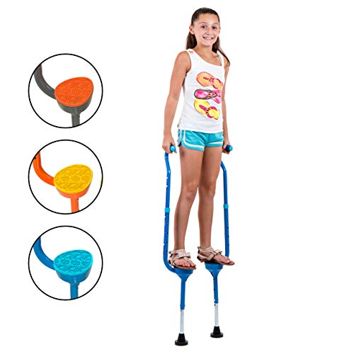 Flybar(R Maverick Small Stilts - Yellow (Weight Limit 190 lbs)