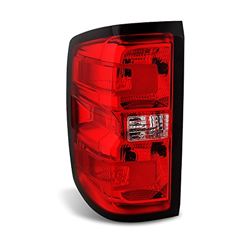 ACANII - For Chevy Silverado 1500 2500HD 3500HD Tail Light Brake Lamp Replacement - Driver Side Only