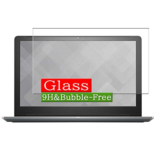 Synvy Tempered Glass Screen Protector Compatible with Dell Vostro 15 5568 Series 15.6' Visible Area Protective Screen Film Protectors 9H Anti-Scratch Bubble Free