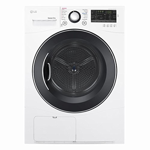 """LG DLEC888W 24"""" Electric Dryer with 4.2 cu. ft. Capacity, in White"""