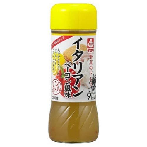 イカリソース 野菜のドレス イタリアンベーコン 200ml瓶×10本入