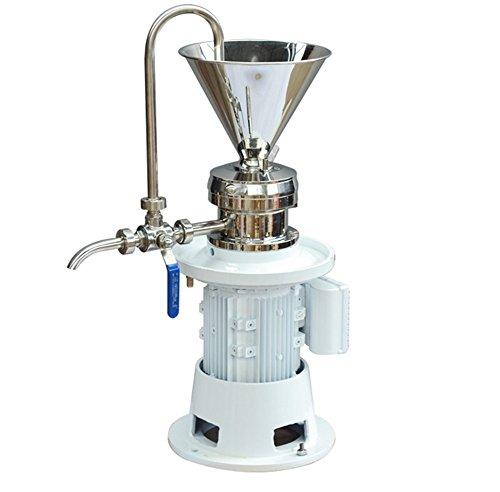 Newtry JM-50 Erdnuss-Buttermühle/Kolloidmühle/Homogenizer/Schleifmaschine für PigmentMarmeladenpaste für Tierfutter Sesambutter - 220V