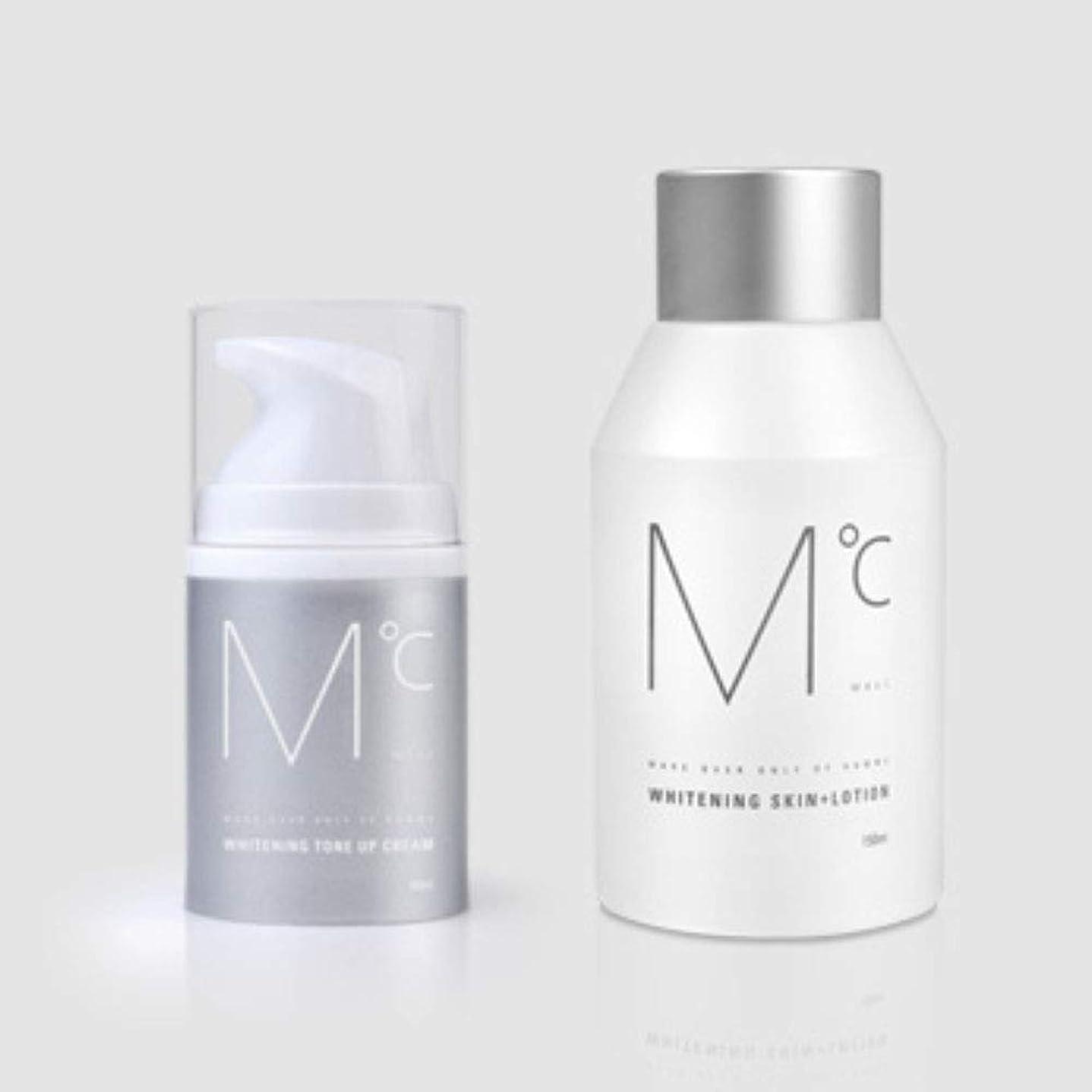 周りチーフ物語M°C Whitening Tone-UP Set(スキン+ローション&クリーム) Men's男性KOREA化粧品MdoC