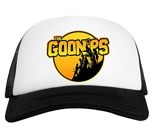 The Goonies Gorra De Béisbol Unisex Blanca Negra White Black Baseball Cap