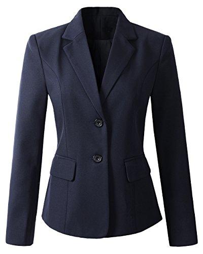 Dress Up Boys' Navy Blazer Jacket #JL30 (8, Lt. Navy)