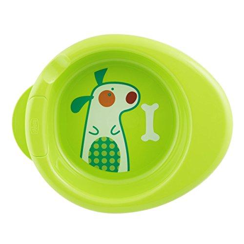 Chicco Assiette Bébé Maintien au Chaud 2 en 1 Décorée Vert