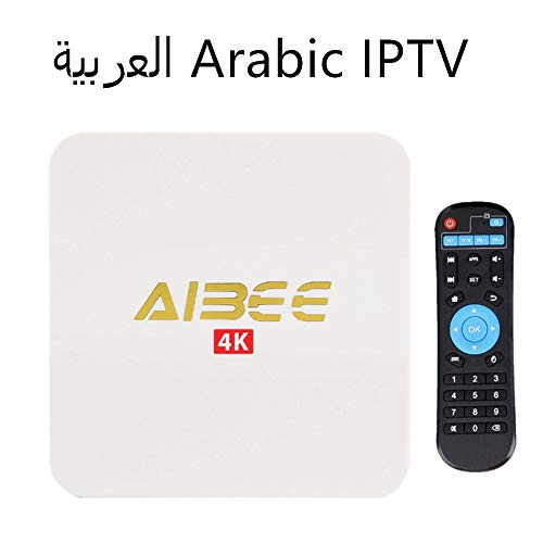 Arabic IPTV Android TV Box Arabic TV Box WiFi Receiver 1800+ HD Channels from Over The World TV Box IPTV Arabic Box with 1 Years Service …