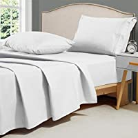 4-Piece Minoroty 1800 TC King Bed Sheets Set