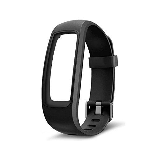 Kalttoy Fitness Tracker Monitor Ersatzarmband ID107 Plus Smart Watch Schwarz