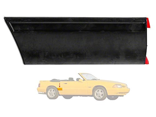 1987-93 Mustang LX Front of Quarter Body Molding - Right/Passenger Side