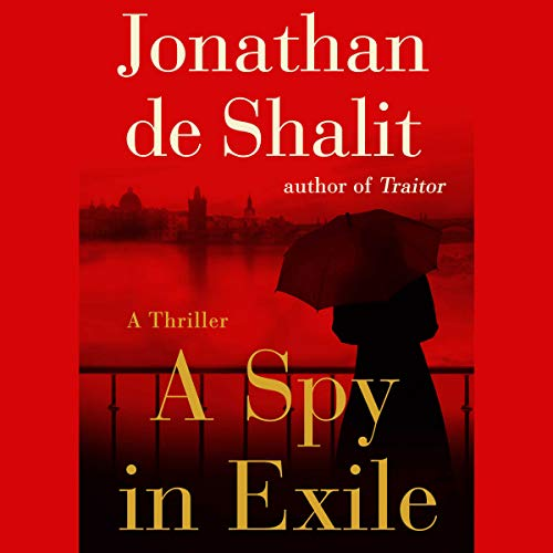 A Spy in Exile audiobook cover art