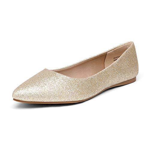 Top 10 best selling list for gold pointed flat shoes