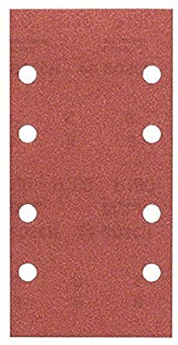 Bosch Schleifblatt (für Schwingschleifer verschiedene Materialien, 10 Stück, 93 x 185 mm, Körnung 180)