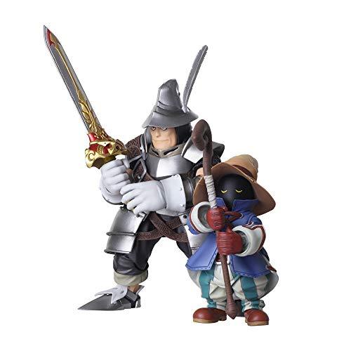 Squarenix FINAL Fantasy IX Bring Arts VIVI Ornitier & Adelbert Steiner Action Figures