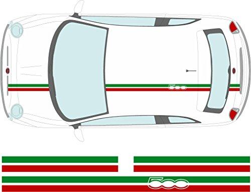 Adhesivo decorativo para techo, diseño de bandera italiana (SS20022)