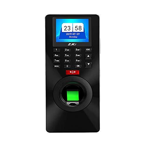 Aibecy ZK-FP18 Fingerabdruckerkennung Passwort Zeiterfassung und Zutrittskontrolle Türöffner verriegeln