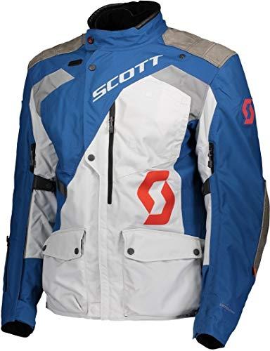 Scott Dualraid Dryo Giacca tessile motociclistica Blu/Grigio
