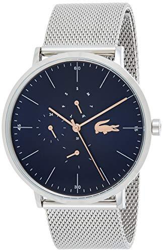 Lacoste Reloj Multiesfera para Hombre de Cuarzo con Correa en Acero Inoxidable 2011024