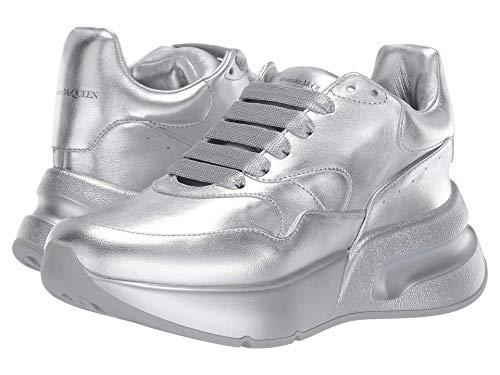 Alexander McQueen Oversized Runner Sneaker Silver/Silver 37 (US Women's 7) B (M)