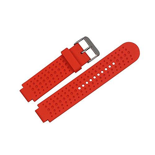 Bracelet de Rechange pour Garmin Forerunner 25, Souple en silicone de remplacement Band Fitness Sports Bracelet d'activité avec fermoir pour Garmin Forerunner 25