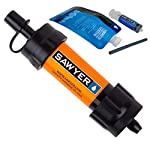Sawyer MINI Portable Water Filtration System with Squeeze Pouch