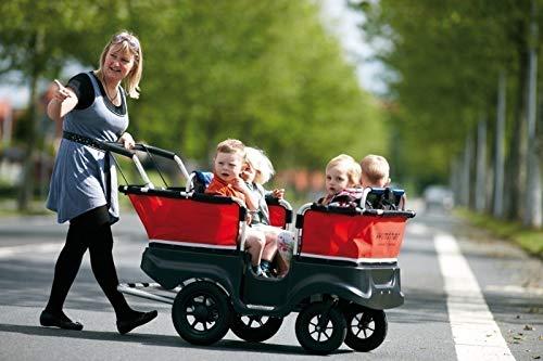 Winther Turtle Kinderbus de Luxe für 4 Kinder bis 5 Jahre