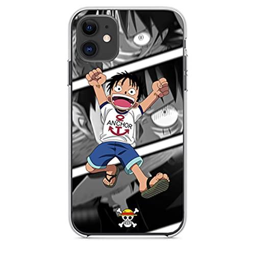 ZMMZ Anime Jujutsu Kaisen - Carcasa para iPhone 7, 8, 7 Plus, 8 Plus, X XS XR XS Max, con diseño de impresión Gojo Satoru ultra fina transparente suave TPU cubierta protectora G- 7/8Plus