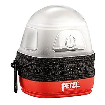 PETZL NOCTILIGHT - étuis pour équipements, TIKKINA, Tikka, ZIPKA, TACTIKKA +RGB, 85 g, Noir/Orange & E93990 Étui Poche pour Lampes frontales compactes TIKKINA, Noir Argent