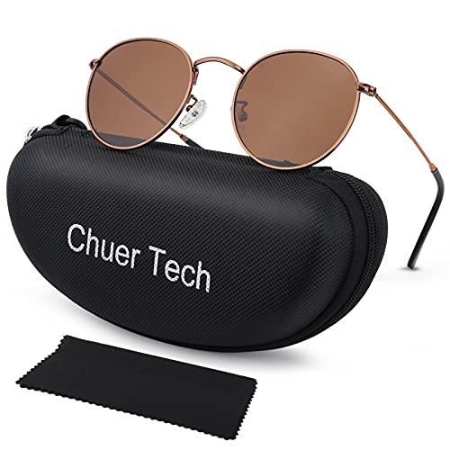 Gafas de Sol Polarizadas Hombre y Mujer UV400 Protección, Sunglasses Vintage y Clásicos Gafas de Sol Unisexo, Gafas de Sol Super Ligero al Aire Libre Deportes Golf Ciclismo Pesca Senderismo Conduir
