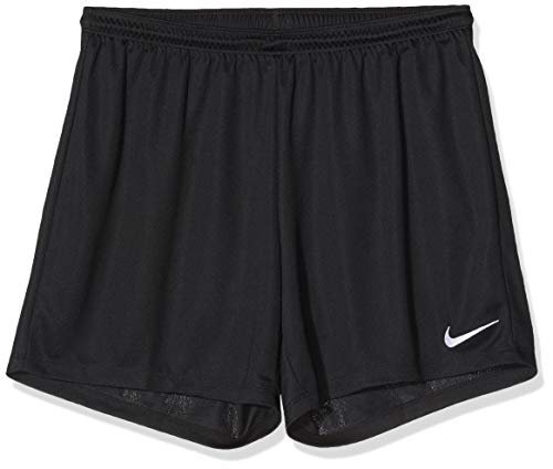 Nike Damen Park II Shorts, Black/White, L