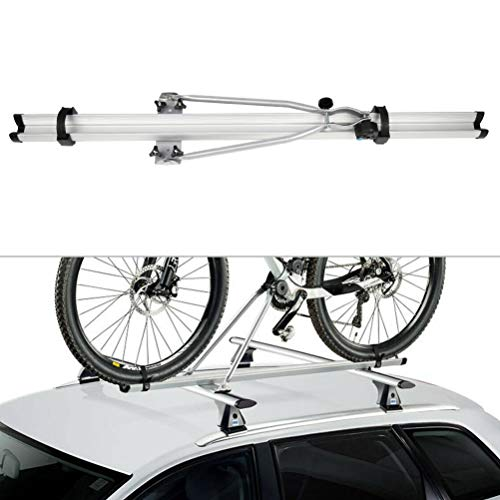 ECCPP Bike Roof Carrier Mounted on Car SUV Trunk Crossbar Universal Bike Rack For 1 Bike with Locking System-1 PC