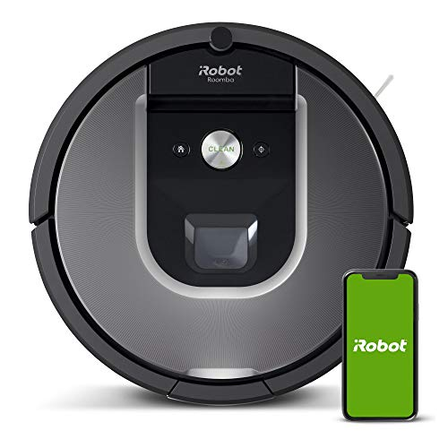 iRobot Roomba 960 Robot Vacuum with Wi-Fi Connectivity powered by Lithium Ion, Works with Alexa