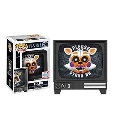 Funko Pop Games : Five Nights at Freddy'S - Lolbit 3.75inch Vinyl Gift for Games Fans SuperCollection