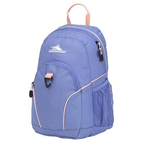 High Sierra Mini Loop Zaino, ideale per bambini, scuola superiore, borsa per la scuola, perfetto per ragazzi e ragazze, unisex-adulti (solo valigia), 87378-6752, Lapis/sabbia rosa., Taglia unica