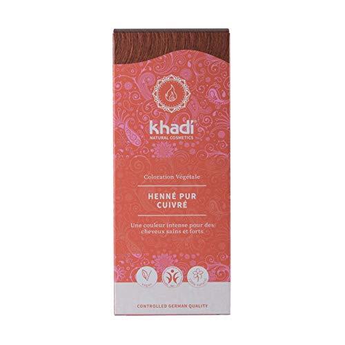 Khadi Färbemittel für Pflanzen Henna, 100 g, Rot