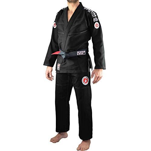 Bõa BJJ Gi Kimono Jogo No Chão 3.0 Negro - Negro, A2
