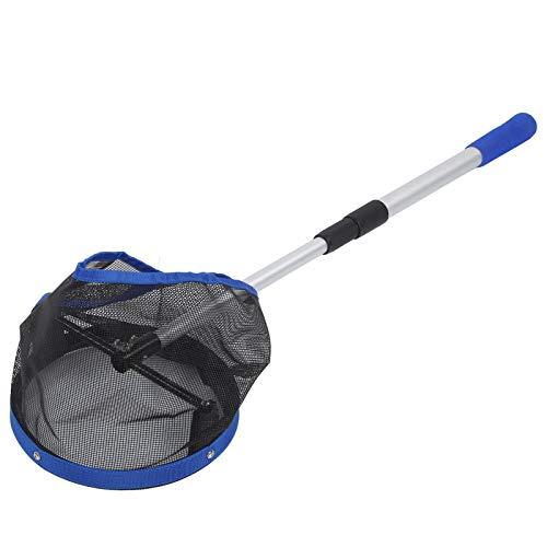 DAUERHAFT Recipiente recogedor de Bolas de Gran Capacidad, Malla de Nailon portátil para Recoger Bolas de Tenis de Mesa