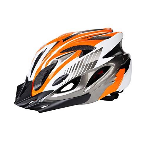 Gym Ciclo Casco Confort Seguridad Ciclo Que Monta en Bicicleta luz Helme...