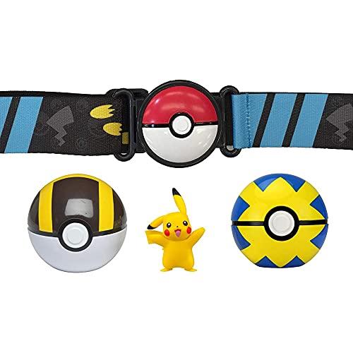 Pokemon 98005 Clip n Go Poké Ball Belt Set