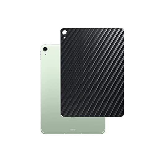 Vaxson 2 Unidades Protector de pantalla Posterior, compatible con IPAD AIR 4 2020 10.9' air4, Película Protectora Skin Piel Negro [No Carcasa Case ]