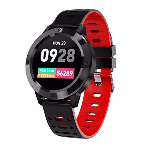 LRWEY Fitness Smart Watch, CF58 Herzfrequenz Blutdruckmessgerät IP67 Wasserdichte Multi-Sportmodi Smart Watch für Android iOS