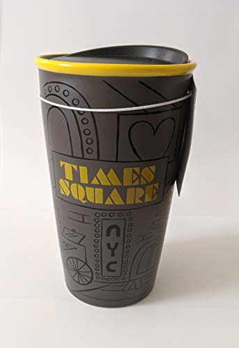 2019 Starbucks Times Square New York City Collection Ceramic Double Wall Traveler 12oz/355ml