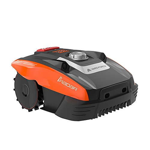 Yard Force Compact 400Ri Robotic Lawnmower with iRadar - Active Safety...