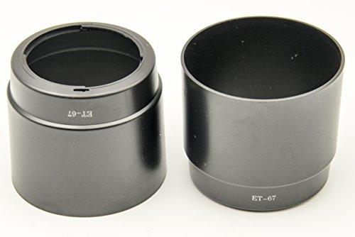 PROtastische vervanging ET-67 Lens Hood *** 2 PACK *** Voor Canon EF 100mm f/2.8 USM Macro Lens