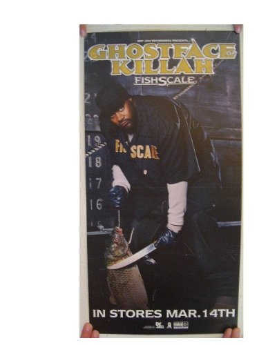 Ghostface Killah 2 Sided Poster FishScale Fish Scale