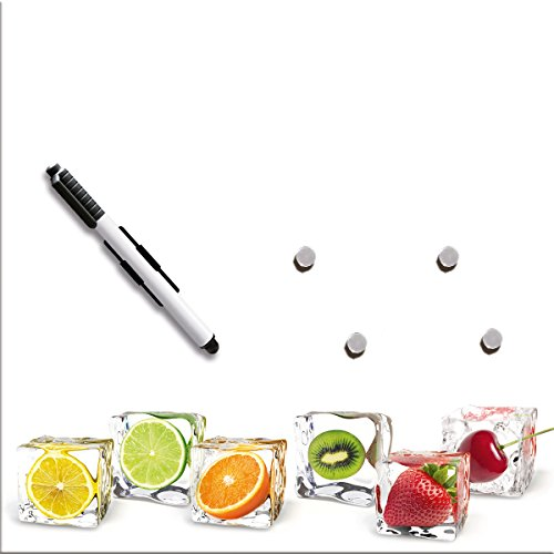 Eurographics 30X30 Memoboard, Glas, MB-DT6205 Delicate Fruits, 30x30x2 cm