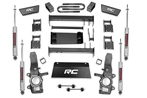 Rough Country 4' Lift Kit (fits) 1997-2003 F150 4WD | N3 Shocks | Lifted...